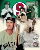 Ted Williams Legends Red Sox with Hologram 8x10 Photo