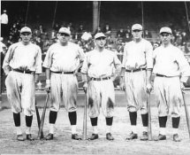 Lou Gehrig & Babe Ruth Murderers Row 1927 Yankees 8X10 Photo LIMITED STOCK