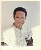Horace Clarke Original Stadium Souvenir With Stamped Signature Yankees 1971 Arco MLB 8X10 Photo