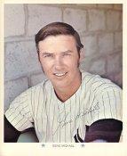 Gene Michael Original Stadium Souvenir With Stamped Signature Yankees 1971 Arco MLB 8X10 Photo