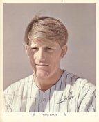 Frank Baker Original Stadium Souvenir With Stamped Signature Yankees 1971 Arco MLB 8X10 Photo