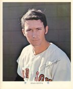 Doug Griffin Original Stadium Souvenir With Stamped Signature Red Sox 1971 Arco MLB 8X10 Photo