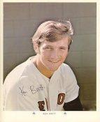 Ken Brett Original Stadium Souvenir With Stamped Signature Red Sox 1971 Arco MLB 8X10 Photo