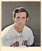Bob Montgomery Original Stadium Souvenir with Stamped Signature Red Sox Slight Crease1971 ARCO 8x10 Photo
