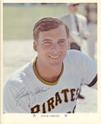 Richie Hebner Original Stadium Souvenir With Stamped Signature Pirates 1971 Arco MLB 8X10 Photo