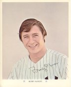 Bobby Murcer Original Stadium Souvenir With Stamped Signature Pirates 1971 Arco MLB 8X10 Photo