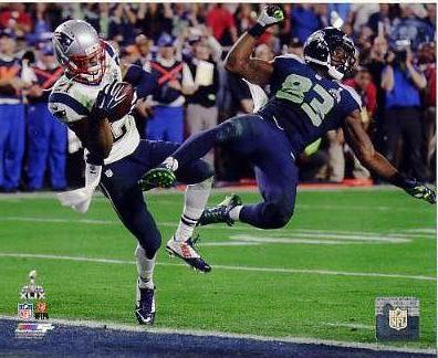 Malcolm Butler Super Bowl 49 Interception New England Patriots SATIN 8X10 Photo