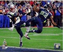 Malcolm Butler Super Bowl 49 Interception New England Patriots SATIN 8X10 Photo