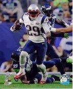 LeGarrette Blount Super Bowl 49 New England Patriots SATIN 8X10 Photo