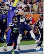 Danny Amendola Super Bowl 49 TD New England Patriots SATIN 8X10 Photo
