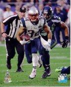 Shane Vereen Super Bowl 49 New England Patriots SATIN 8X10 Photo