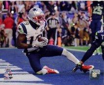 Brandon LaFell Super Bowl 49 New England Patriots SATIN 8X10 Photo