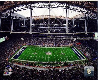 A1 University of Phoenix Stadium Super Bowl 49 SATIN 8x10 Photo