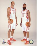James Harden & Dwight Howard Houston Rockets Satin 8X10 Photo