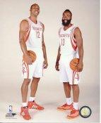 James Harden & Dwight Howard Houston Rockets Satin 8X10 Photo