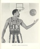 Mel Davis Harlem Globetrotters Original Press Photo / Wire Photo 8x10