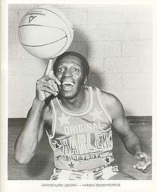 Meadowlark Lemon Harlem Globetrotters Original Press Photo / Wire Photo 8x10