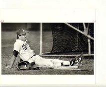 Steve Sax LA Dodgers Original Press Photo / Wire Photo 7x9