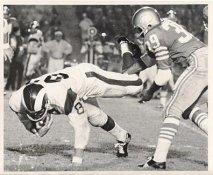 Kermit Alexander San Francisco 49ers & Billy Truax LA Rams Original Press Photo / Wire Photo 8x10