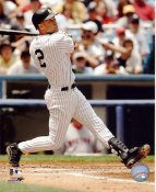 Derek Jeter 2008 Batting Action New York Yankees LIMITED STOCK SATIN 8X10 Photo