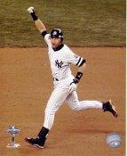 Derek Jeter 2001 World Series Game Winning H.R. 10th Inning Game 4 New York Yankees LIMITED STOCK SATIN 8X10 Photo