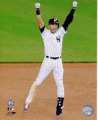 Derek Jeter Game Winning Walk Off Single Final Game Yankee Stadium 9/25/14 New York Yankees LIMITED STOCK SATIN 8X10 Photo