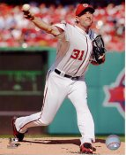 Max Scherzer Washington Nationals SATIN 8X10 Photo