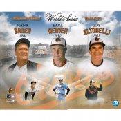 Hank Bauer, Earl Weaver & Joe Altobelli Baltimore Orioles Managers LIMITED STOCK 16x20 Photo