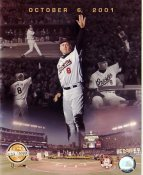Cal Ripken Jr. October 6, 2001 Baltimore Orioles Numbered Limited Edition 8X10 Photo