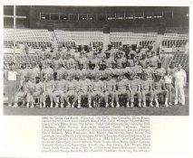 Whitey Herzog Manager, Red Schoendienst Coach, Ozzie Smith, Willie McGee, Keith Hernandez, Bruce Sutter 1982 St. Louis Cardinals 8x10 Photo