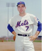 Ed Kranepoole New York Mets 8X10 Photo