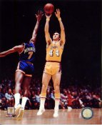Jerry West Los Angeles Lakers LIMITED STOCK SATIN 8x10 Photo