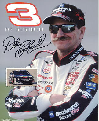 Dale Earnhardt Sr. #3 The Intimidator SUPER SALE 8X10 Photo