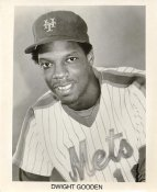 Dwight Gooden New York Mets B&W LIMITED STOCK 8X10 Photo