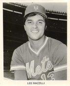 Lee Mazzilli New York Mets B&W LIMITED STOCK 8X10 Photo