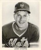 Lenny Dykstra New York Mets B&W LIMITED STOCK 8X10 Photo