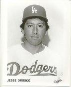 Jesse Orosco LA Dodgers B&W LIMITED STOCK 8X10 Photo