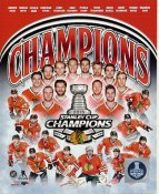 Blackhawks 2015 Stanley Cup Champions Composite Chicago SATIN 8x10 Photo
