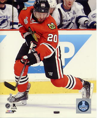 Brandon Saad 2015 Stanley Cup Game 4 SATIN 8x10 Photo