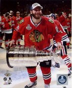 Brandon Saad with 2015 Stanley Cup SATIN 8x10 Photo