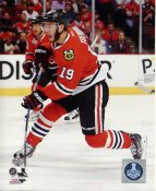 Jonathan Toews 2015 Stanley Cup Game 3 SATIN 8x10 Photo