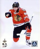 Patrick Kane 2015 Stanley Cup Game 6 Celebration SATIN 8x10 Photo