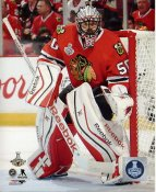 Corey Crawford 2015 Stanley Cup Game 6 SATIN 8x10 Photo