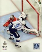 Corey Crawford 2015 Stanley Cup Game 6 SATIN 8x10 Photo
