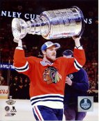 Andrew Shaw with 2015 Stanley Cup SATIN 8x10 Photo