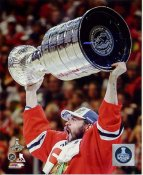 Brent Seabrook with 2015 Stanley Cup SATIN 8x10 Photo