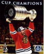 Brad Richards with 2015 Stanley Cup SATIN 8x10 Photo