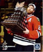 Duncan Keith with 2015 Conn Smythe Trophy SATIN 8x10 Photo