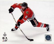 Duncan Keith 2015 Stanley Cup Game 3 SATIN 8x10 Photo