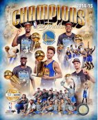 Golden State Warriors 2015 Champions Numbered Limited Edition SATIN 8X10 Photo LIMITED STOCK
